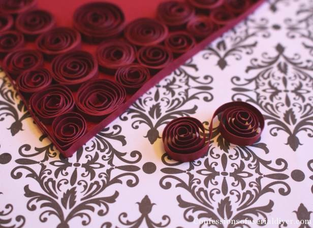Quilled Paper Heart 6