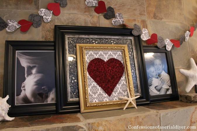 Easy and Inexpensive DIY Valentine's Day Decor