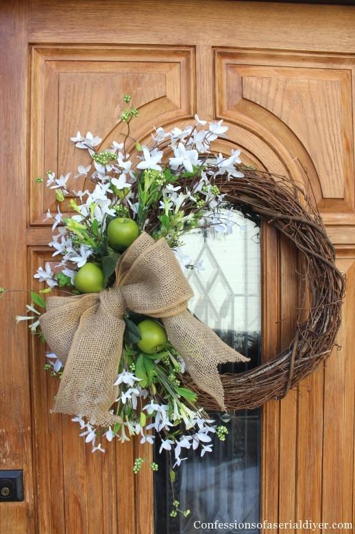 Twig Wreath Decorating Ideas