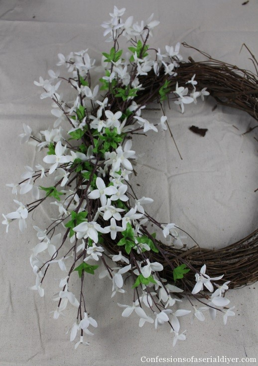 Simple Spring Wreath 12