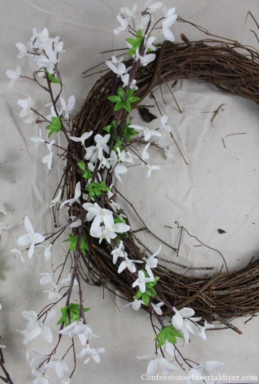 Simple Spring Wreath 13