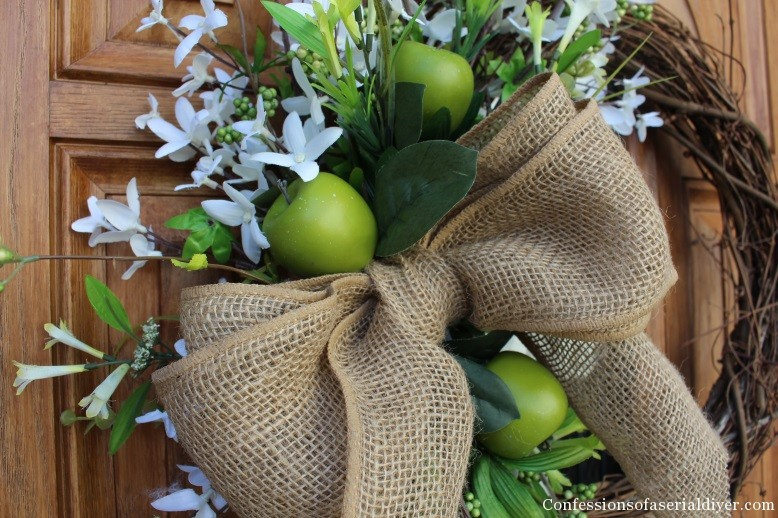 Simple Spring Wreath 19