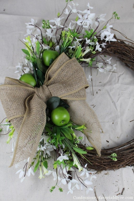 Simple Spring Wreath 7