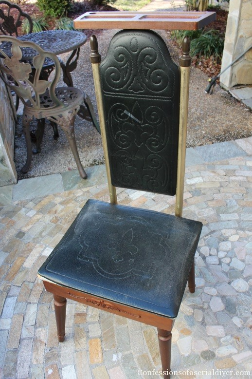 Sweet Stool for her from a Men's Standing Valet 1