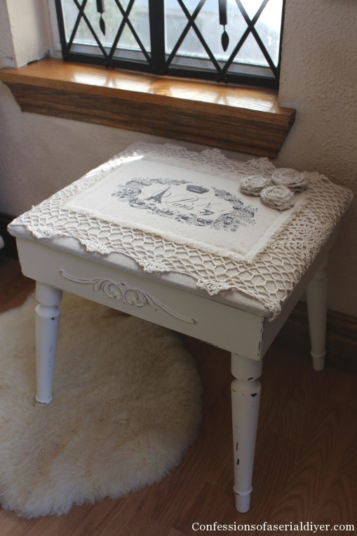 Sweet Stool for her from a Men's Standing Valet 18