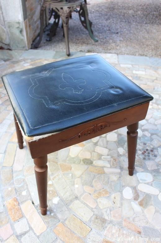 Sweet Stool for her from a Men's Standing Valet 2