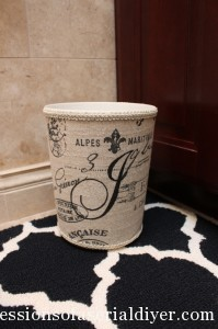 Ballard Monogrammed Garbage Can Knock Off 19