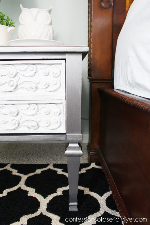 Thrift store throw away gets a glam makeover