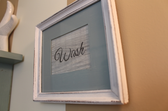 Wash, Brush, Floss DIY Bathroom Art 14