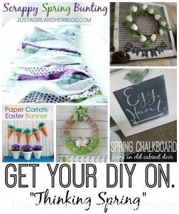 Get Your DIY on April: Thinking Spring