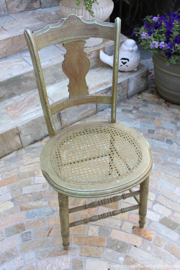 Chair Makeover in ASCP Provence 2