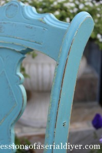 $5 Yard Sale Chair Makeover