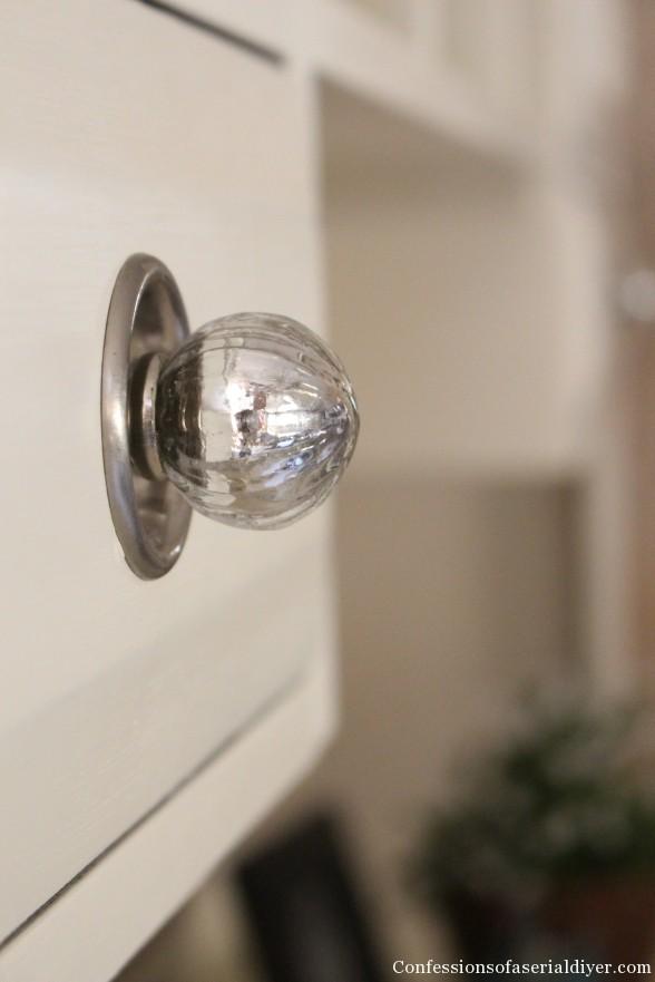 Mercury Glass Knob