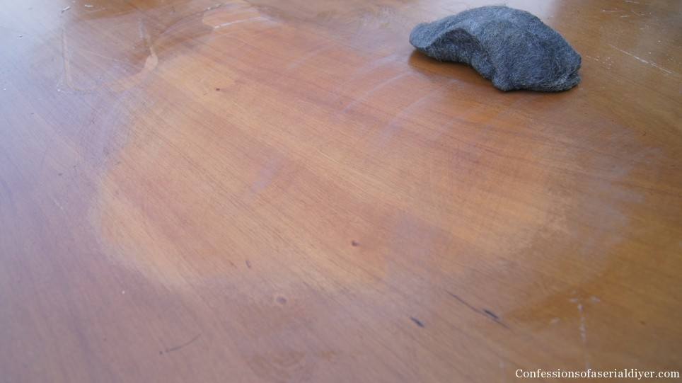 How To Remove Stain Without Sanding Confessions Of A Serial Do It