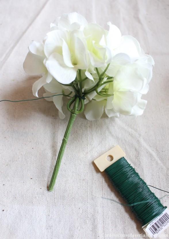 Hydrangea Wreath 10