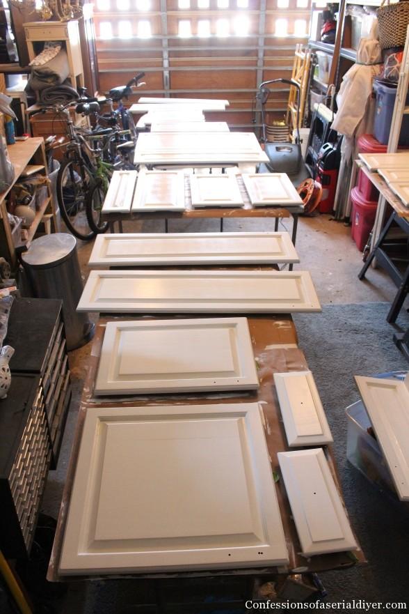 Painting Kitchen 12