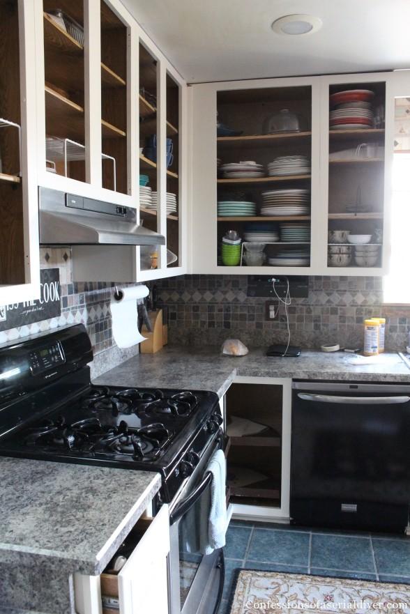 Painting Kitchen 13