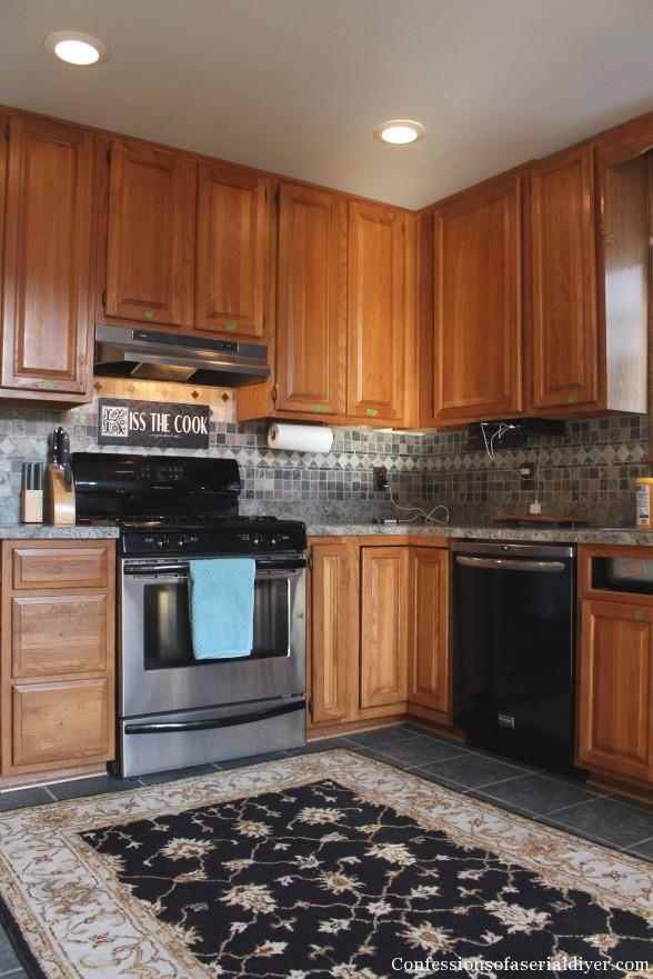 Painting Kitchen 2
