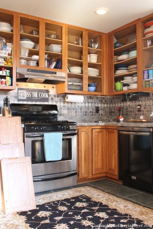 Painting Kitchen 3