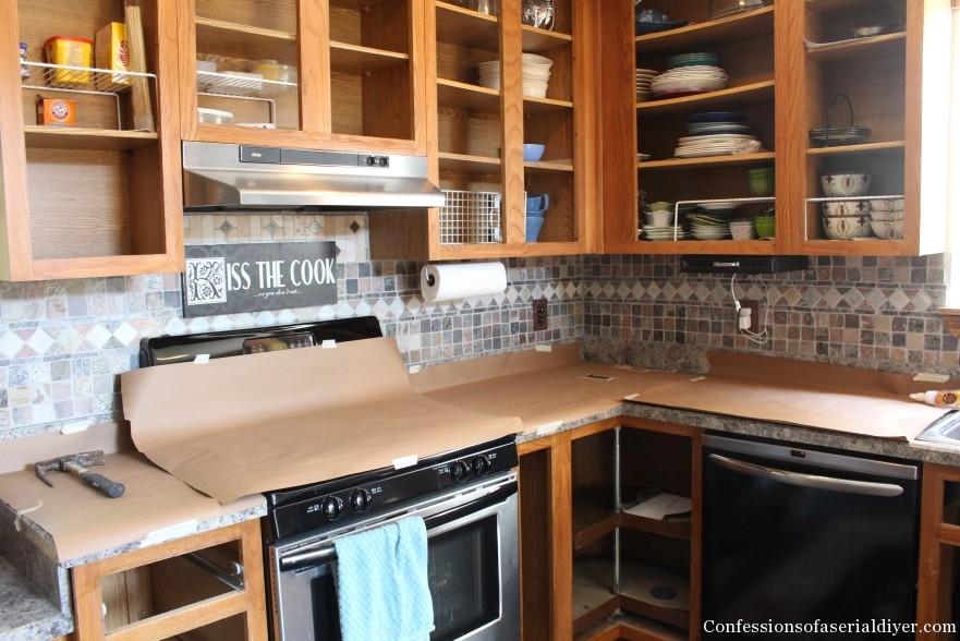 Painting Kitchen 5