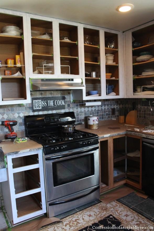 Painting Kitchen 8