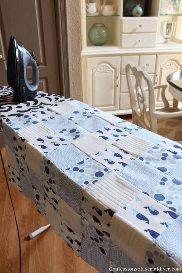 Receiving Blanket Quilt 15