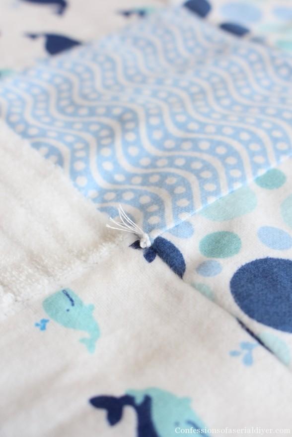 Receiving Blanket Quilt 33
