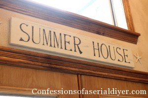 PB Inspired Summer House SIgn