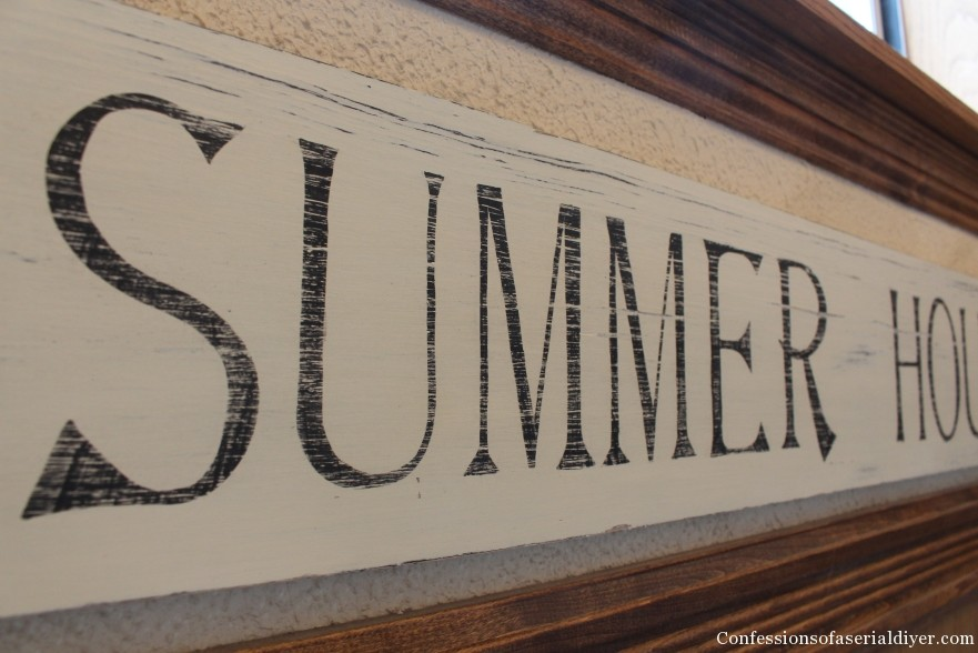 Summer House Sign 15