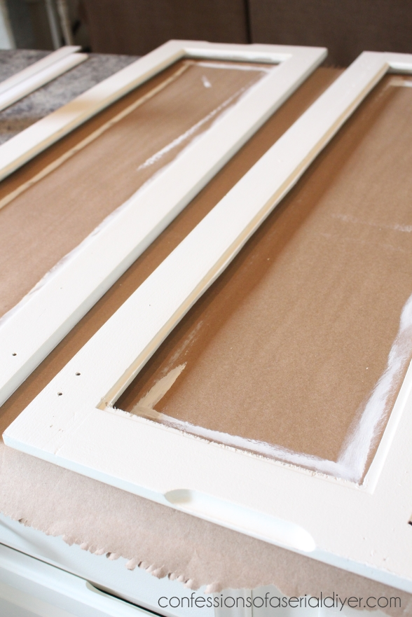 diy kitchen cabinet doors with glass 3