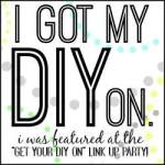 Get Your DIY on  Button 1-19