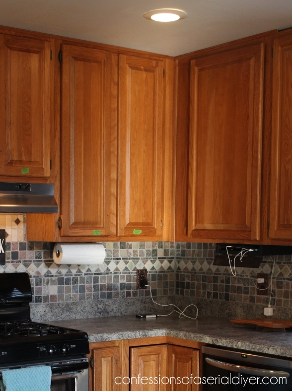 Glass Cabinet before