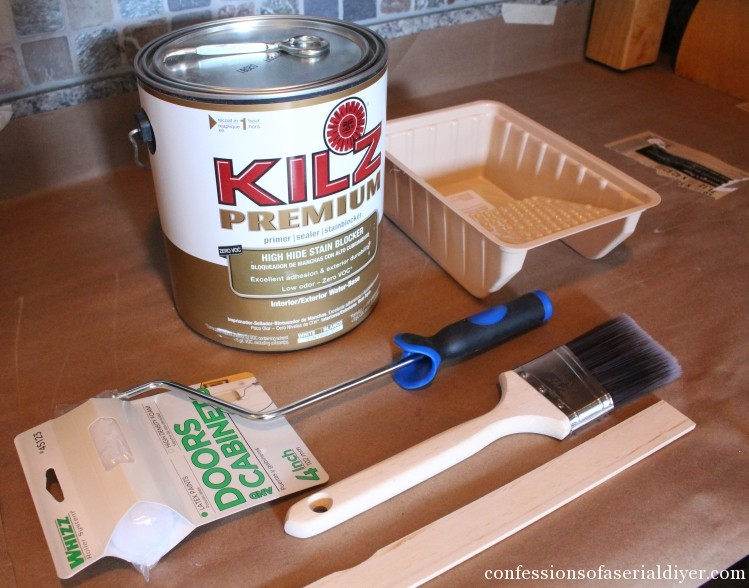 How to Paint Kitchen Cabinets 17