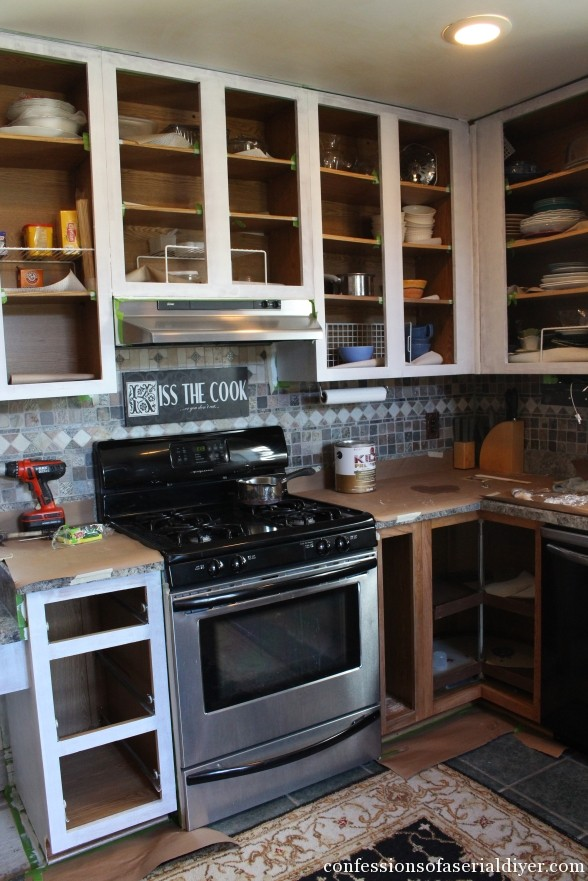 How to Paint Kitchen Cabinets 18
