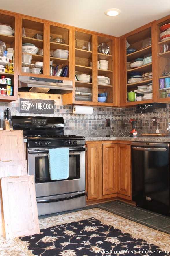 How to Paint Kitchen Cabinets 2