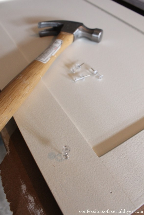 Paint Kitchen Cabinets Hinges With Brush