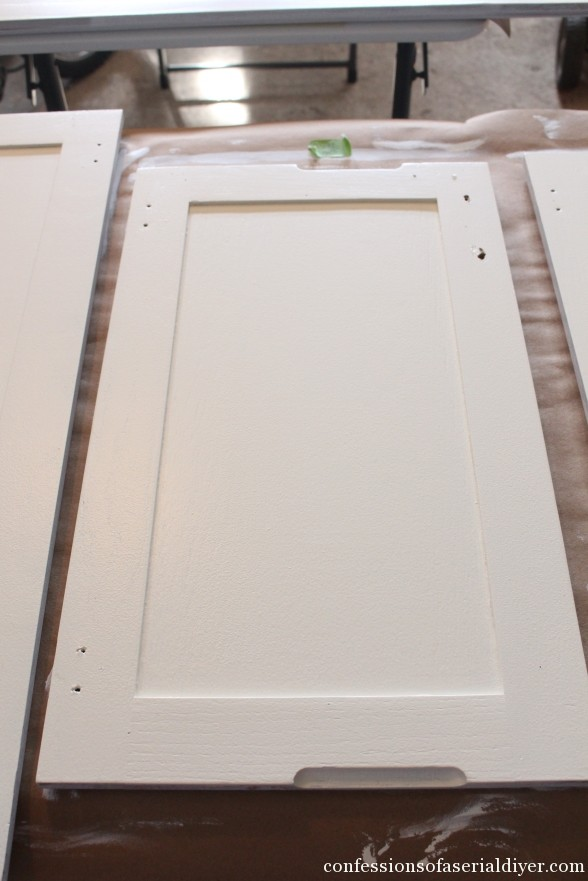 Diy Paint Oak Kitchen Cabinets White