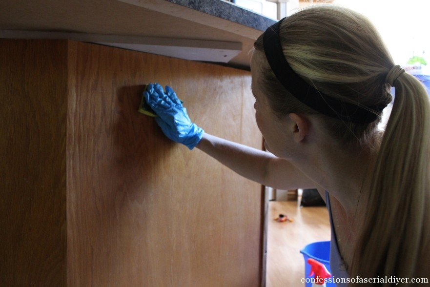 How to Paint Kitchen Cabinets 7
