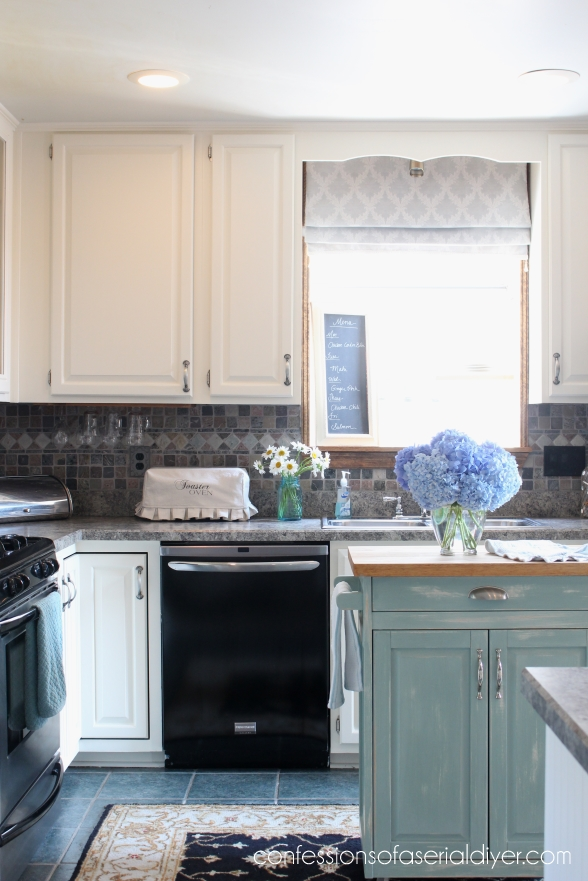 Kitchen Makeover | Confessions of a Serial Do-it-Yourselfer on kitchen cabinet refinishing ideas, kitchen cabinet update ideas, oak kitchen cabinets before and after,
