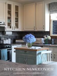 Kitchen Makeover/Confessionsofaserialdiyer.com
