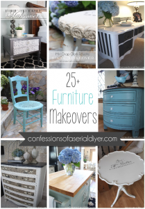 25+ Confessions of a Serial Do-it-Yourselfer Furniture Makeovers
