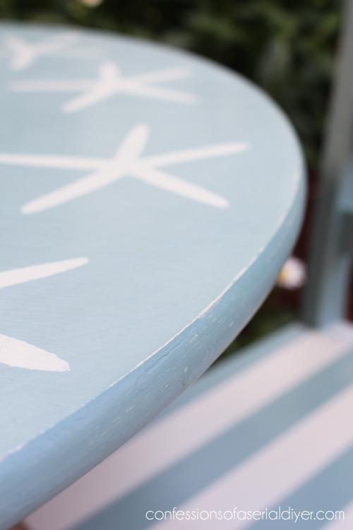 Coastal-Inspired Kid's Table