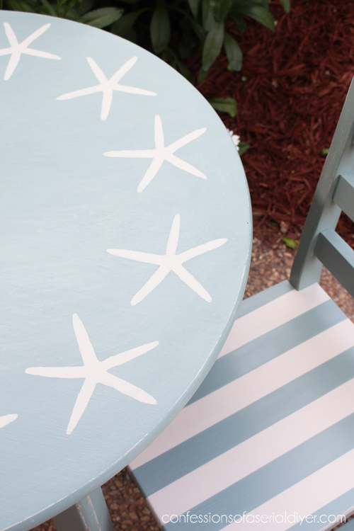 Coastal-Inspired Kid's Table