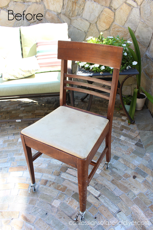 Sewing Chair with Secret Drawer 1 - Sewing Chair With A {top Secret} Drawer