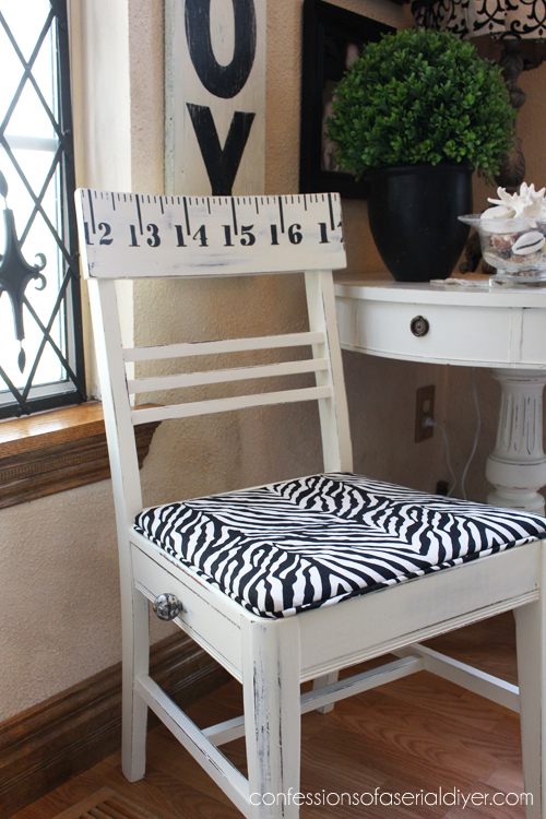 Sewing Chair with a Secret Compartment