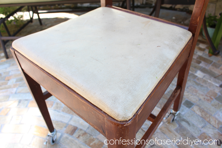 Sewing Chair with Secret Drawer 2