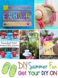 Get Your DIY On July: DIY Summer Fun