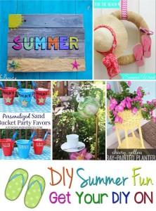 Get Your DIY On July: DIY Summer Fun