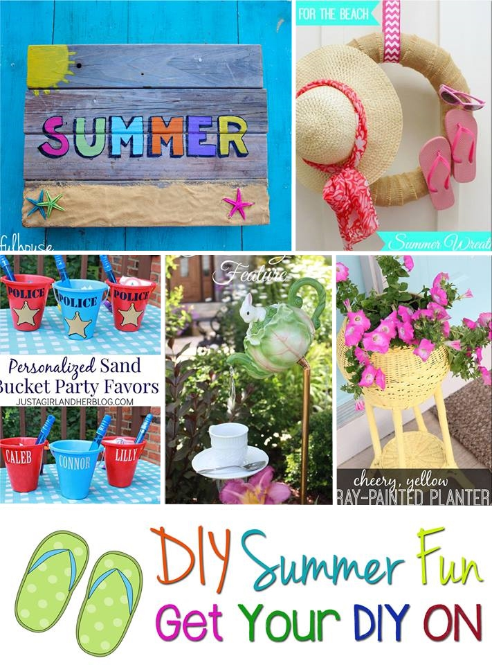 Get Your DIY On Summer Fun