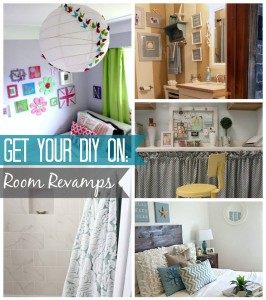 Get Your DIY On August: Room Revamps